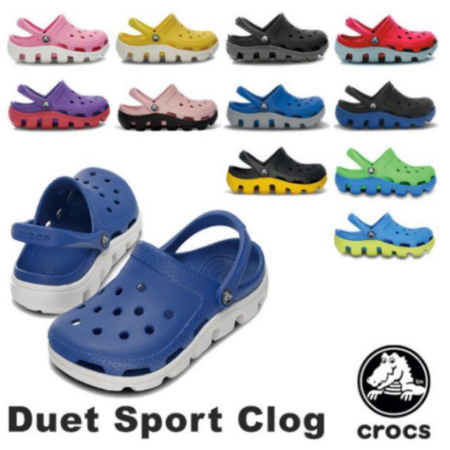 Crocs duet sport clog authentic unisex  099957a07