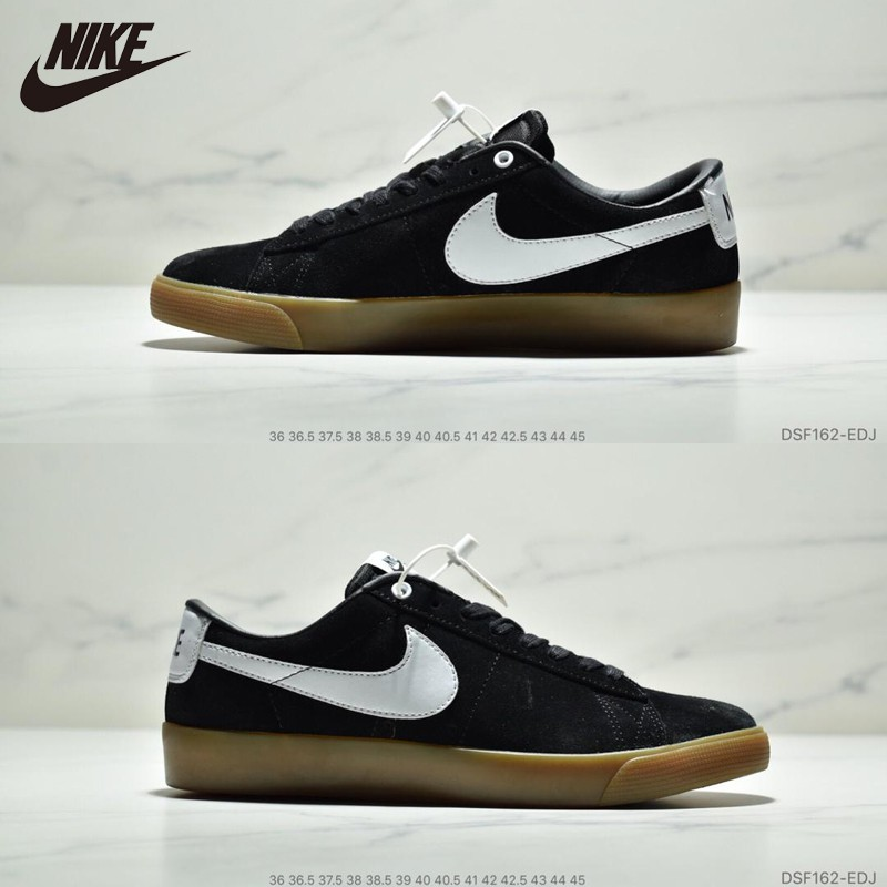 arriving reasonable price new lifestyle Nike Blazer Low GT QS Classic Trailblazer Flats Casual Shoes