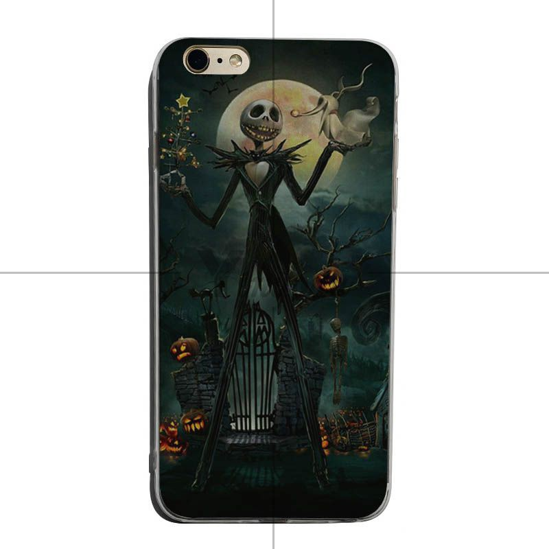 Nightmare Before Christmas Phone Case.The Nightmare Before Christmas Jack Skellington Phone Case Iphone X 8 7 6s Plus 5s