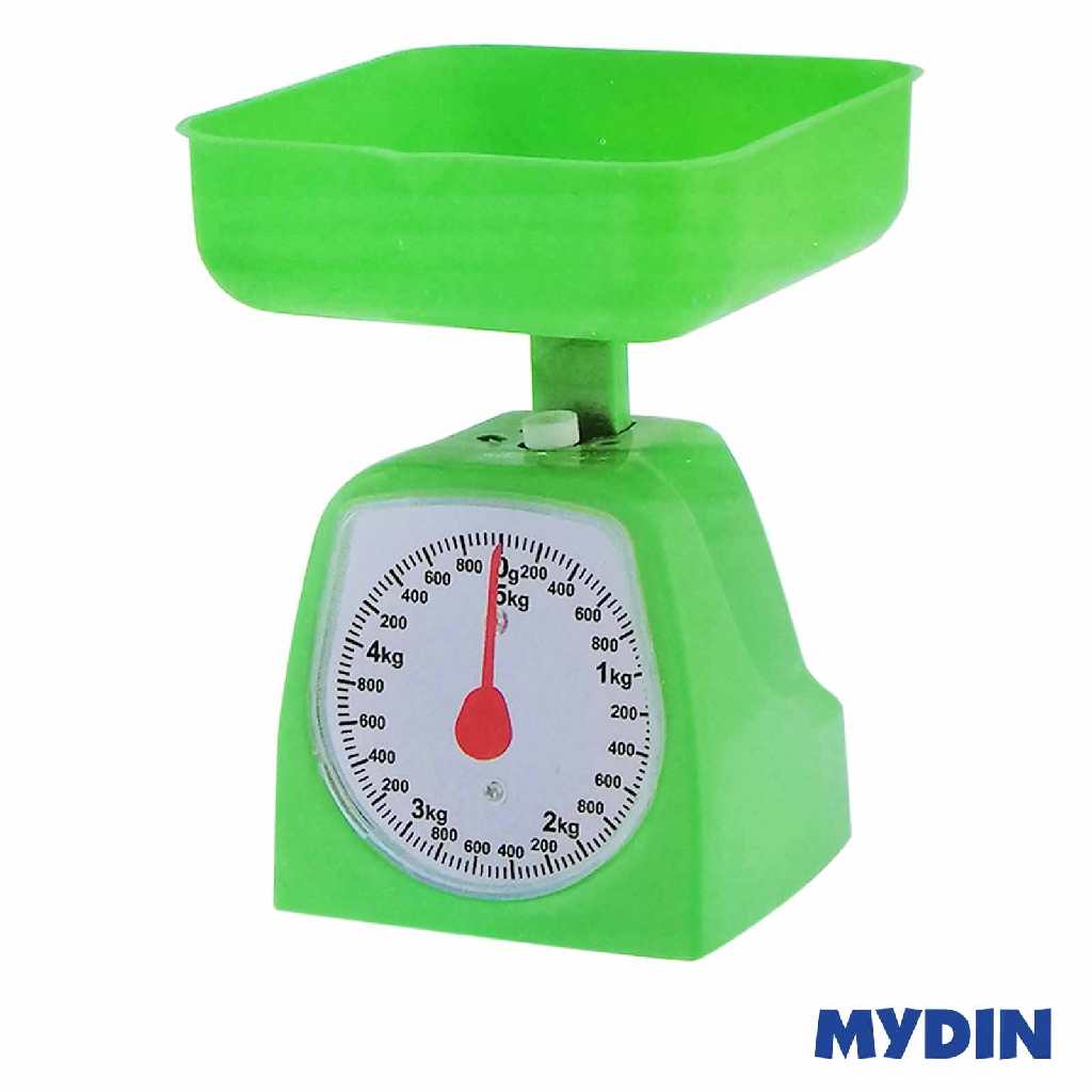 MyHome Kitchen Scale 5kg Assorted Colour KCA-003-MIX