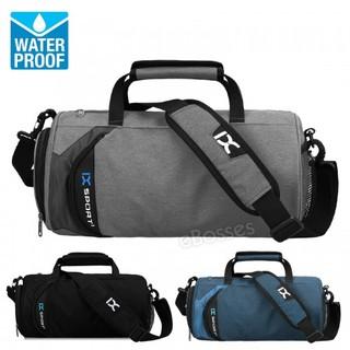 20l Gym Bag Ix Sport With Shoe Compartment Men Duffel Medium Black