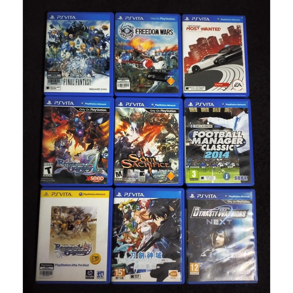 Ps vita games list