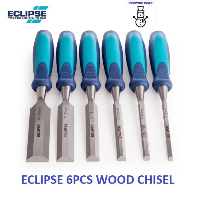 ECLIPSE WOOD CHISEL SET, 3PCS/ 6PCS , 1/2'' TO 1-1/4''