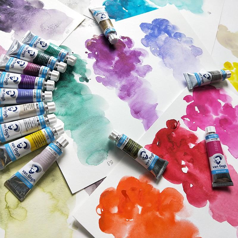 Van Gogh Watercolor Tube 10ml Series 1 (White, Hollow, Red) | Shopee  Malaysia