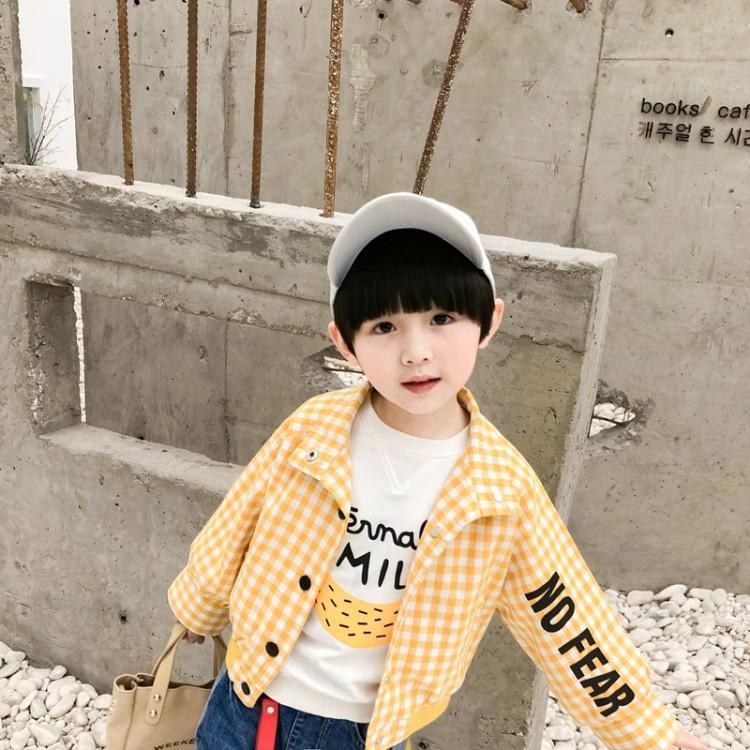 jacket Cotton jacket Boy Baby & Toys Comfortable Coat Spot Baby coat