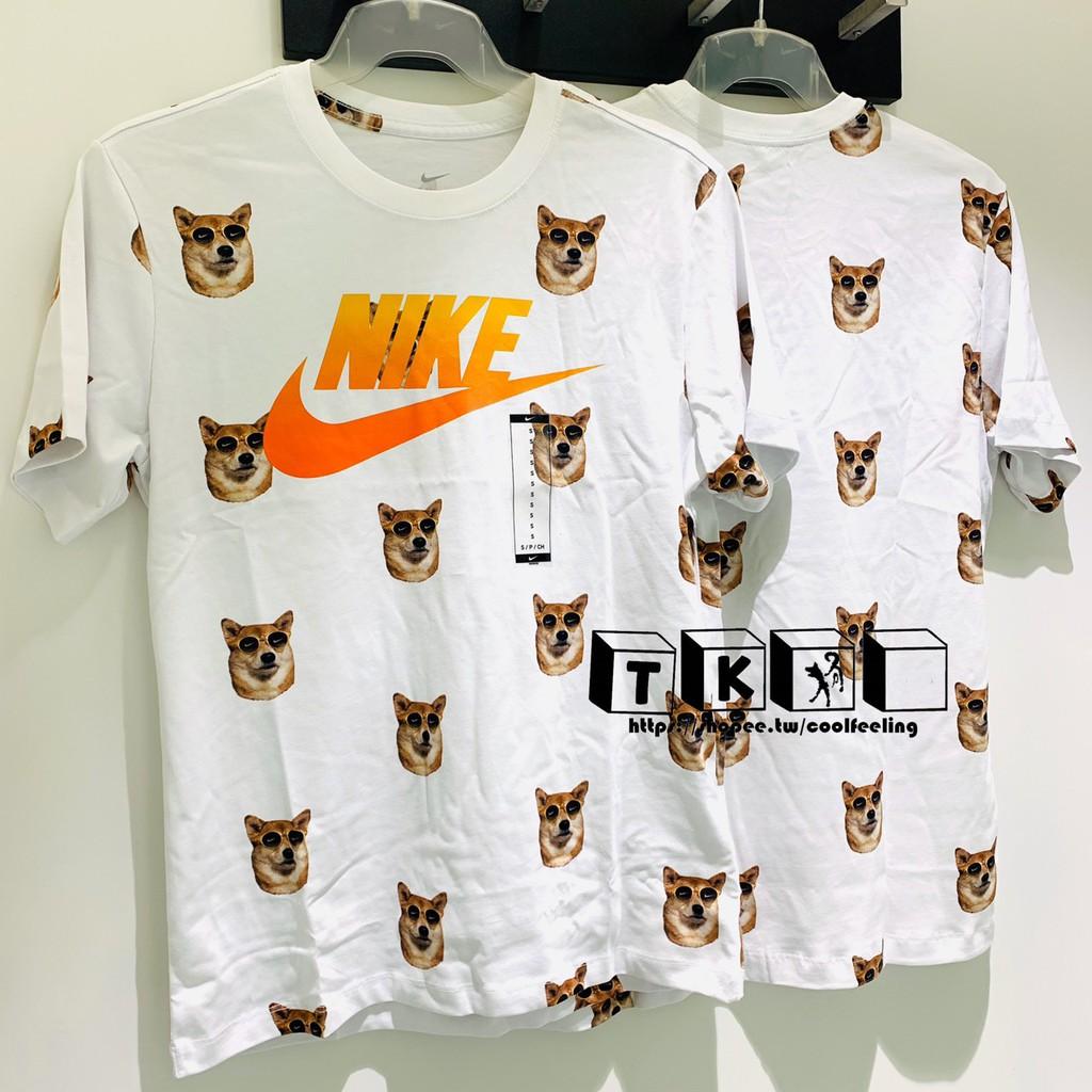 mimar básico Bigote  Takao Hit Dog Nike Shiba 1 Shiba Sunglasses Wood Short T-shirt   Shopee  Malaysia