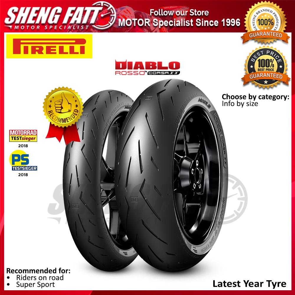 Pirelli DIABLO ROSSO 3 III 160//60//ZR17  69W REAR Motorcycle SPORTS Tyre