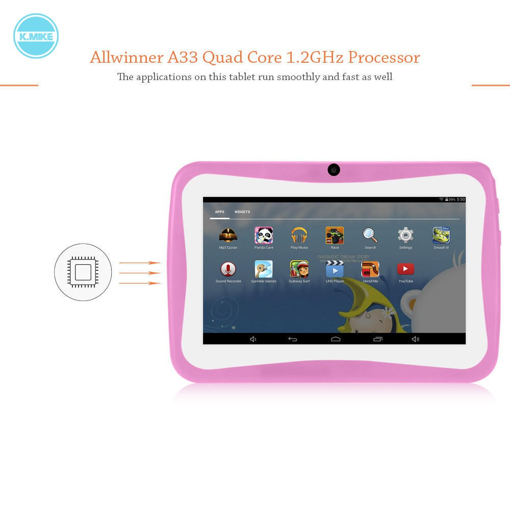 🌟Android 4 4 Allwinner A33 Quad Core 7 0 Inch Kids Tablet PC