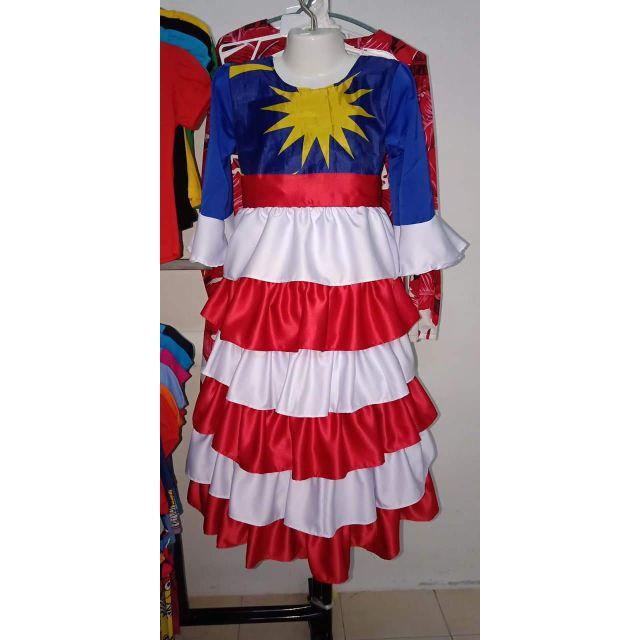 Merdeka Pretty Dress Koleksi Baju Bendera Cantik Shopee Malaysia