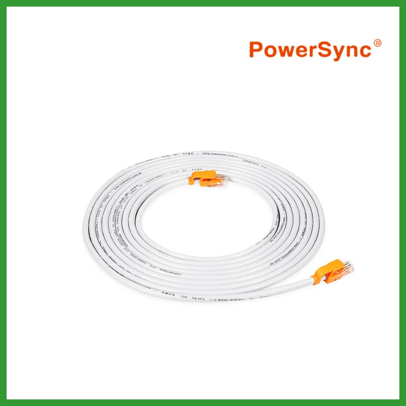 PowerSync CAT 6e Giga-Speed LAN Round Cable
