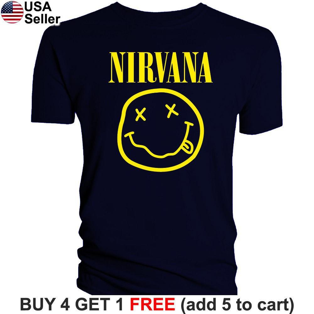 b29caeca3ec2 Nirvana - Kurt Cobain Red Jacket T-Shirt | Shopee Malaysia