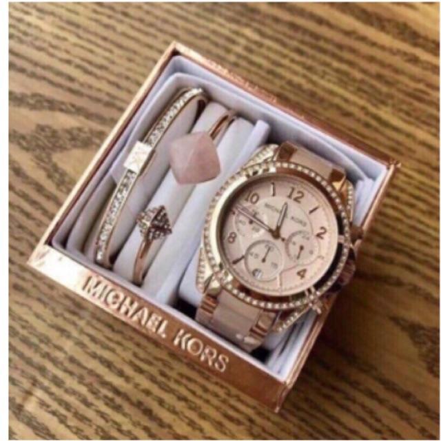 Michael Kors MK 5943 needle timer mk classic watch