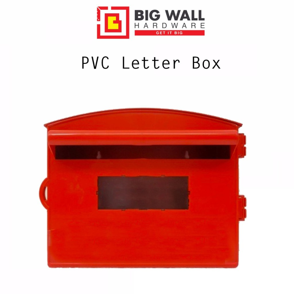 PVC Red Letter Box