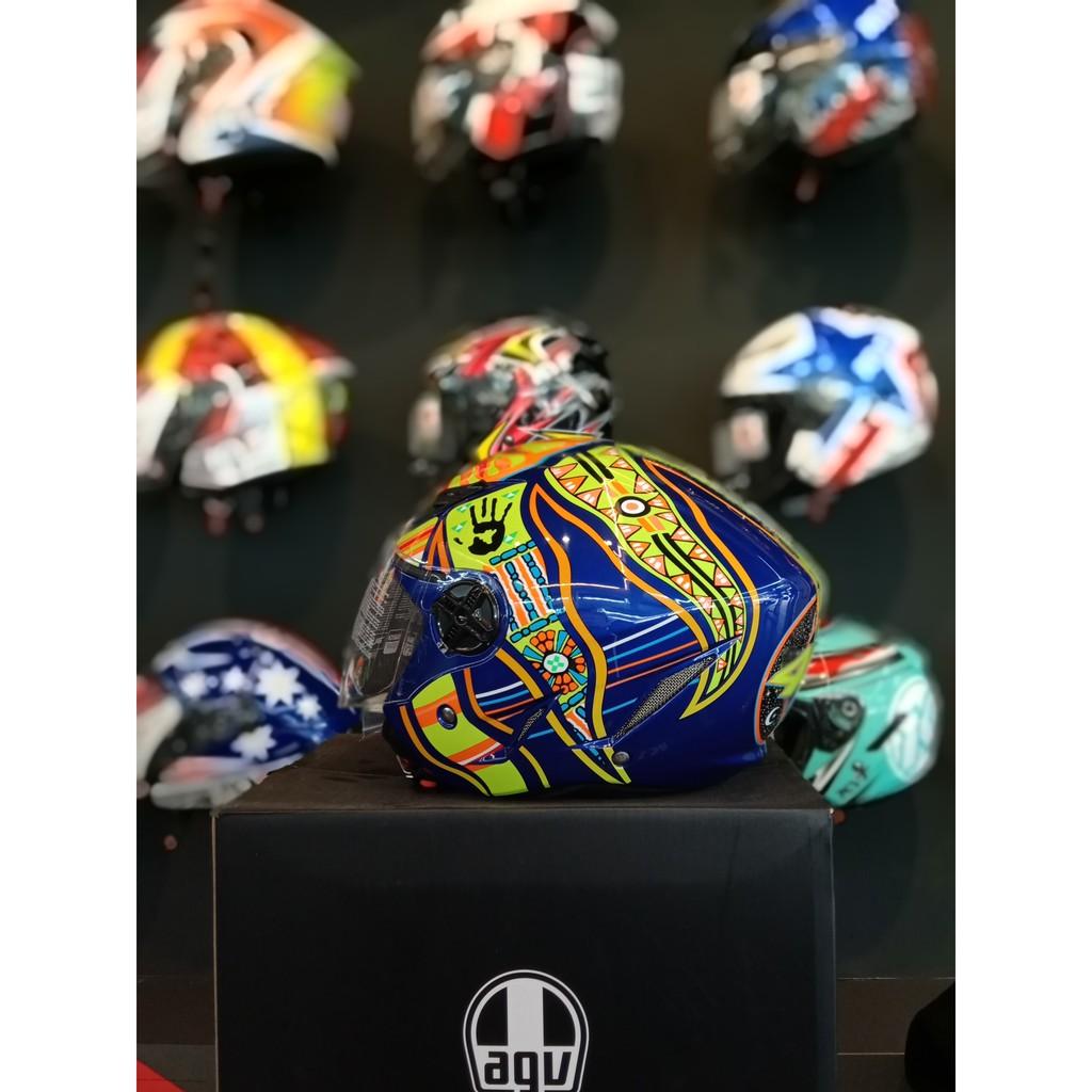 Helmet Agv Blade Five Continents Replica Lazada
