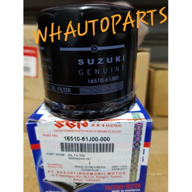 100% ORIGINAL SUZUKI SWIFT SX4 APV ERV OIL FILTER GENUINE PARTS 16510-61J00