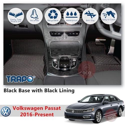 TRAPO Customize Car Floor Mat for Volkswagen Passat Yr 2016-Present