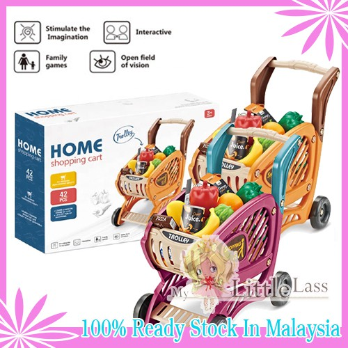 Large Better Quality Shopping Cart with Accessories for Kids