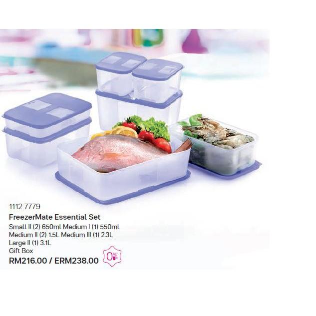 New tupperware Brand Freezer Mate food storage set