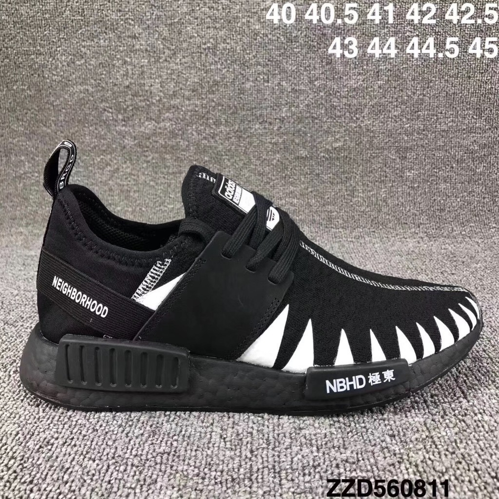 new style d7f7c c8a40 Authentic NEIGHBORHOOD x adidas NMD R_1 PK Boost Shoes NBHD Japan Locomotive