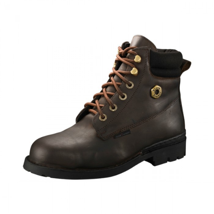 *Promotion* Black Hammer BH4654 Genuine Leather Safety Shoes
