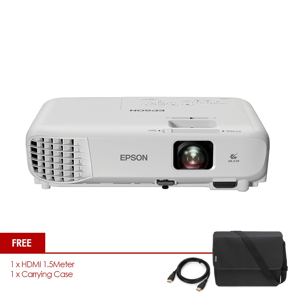 Epson Eb X04 Lcd Projector 1024 X 768 Xga Resolution Shopee Malaysia Ink Yellow C13t03y400 For L6170