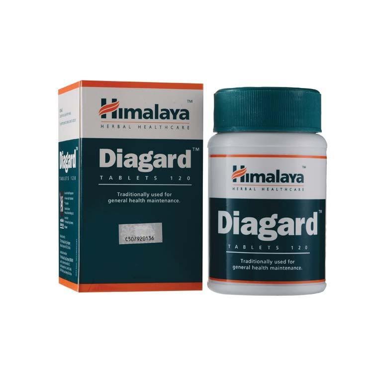 Himalaya Diagard Tablets 120s