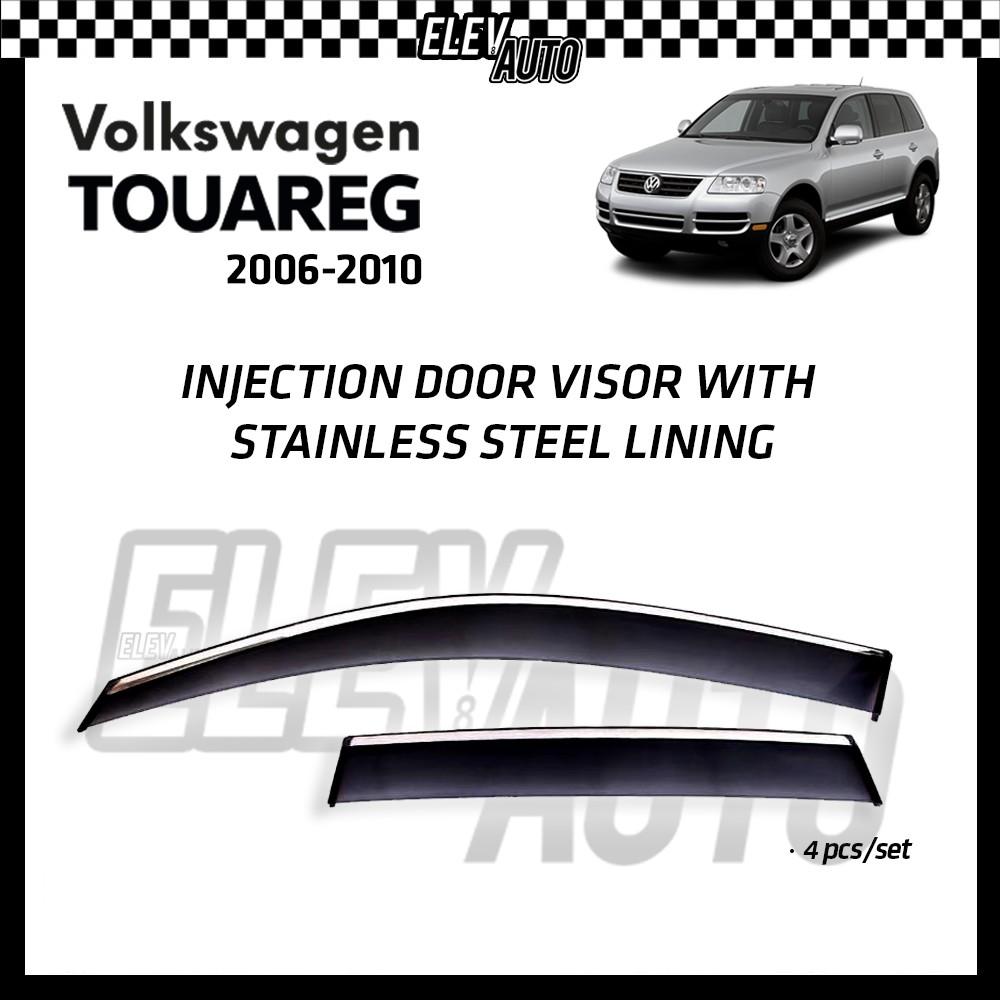 Volkswagen Touareg 2006-2010 Injection Door Visor with Stainless Steel Lining