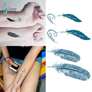 Temporary Tattoo Sticker For Men Women Waterproof Removable Body Art Stickers Shopee Malaysia