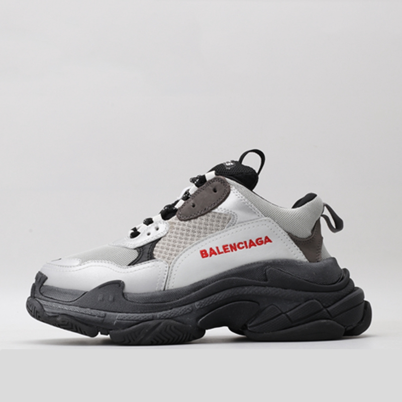 And Sneakers New Balenciaga Thick Greyblack Women Fashion Shoes Casual Men roxBdeWC