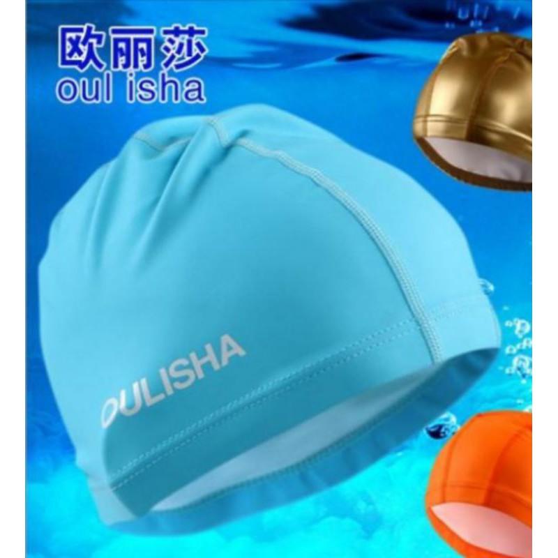 Adult Swimming Cap Men Women Unisex Durable Elastic Silicone Pool Beach Swim Head Cap Summer