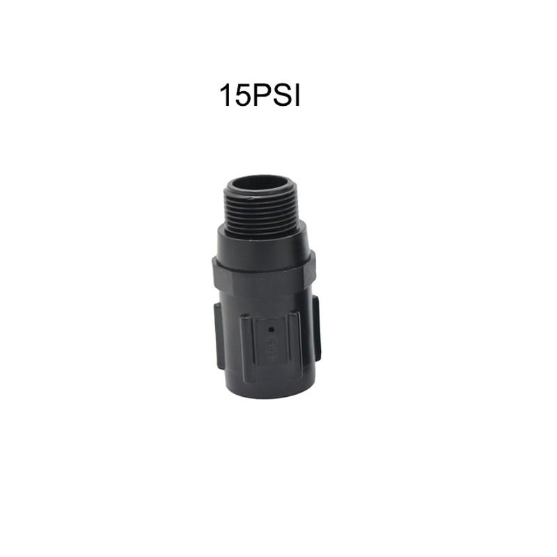 1 Pc 15PSI 45PSI Preset Pressure Regulators Reduces Water Pressure Garden Drip