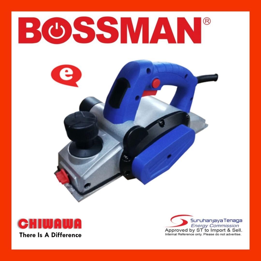 BOSSMAN BEP650 /BPE 650 82mm Electri Planer - Aluminium Body (650w)