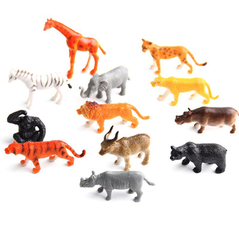 Animals, Insects Intellective Cute Cat Animal Model Figurine Model Ornament Toys Decoration Kids Gaming Toys