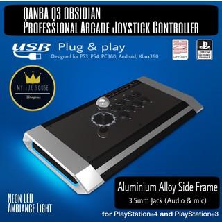 Genuine Qanba Q1-SW (SANWA Spec) Wireless Arcade Joystick