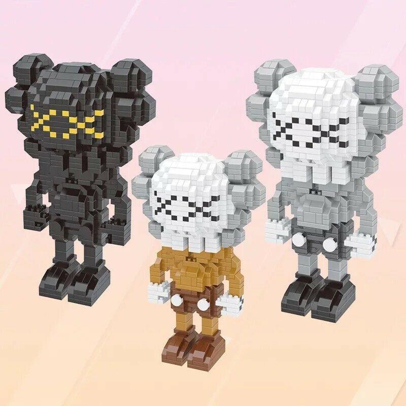 New Venom Diamond Small Particle Building Blocks Lego Kids Education Toys Black