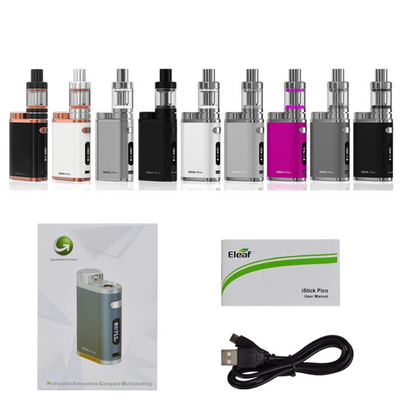 Authentic Eleaf iStick Pico TC Box MOD E-cigarette Vape Temper Control Mod