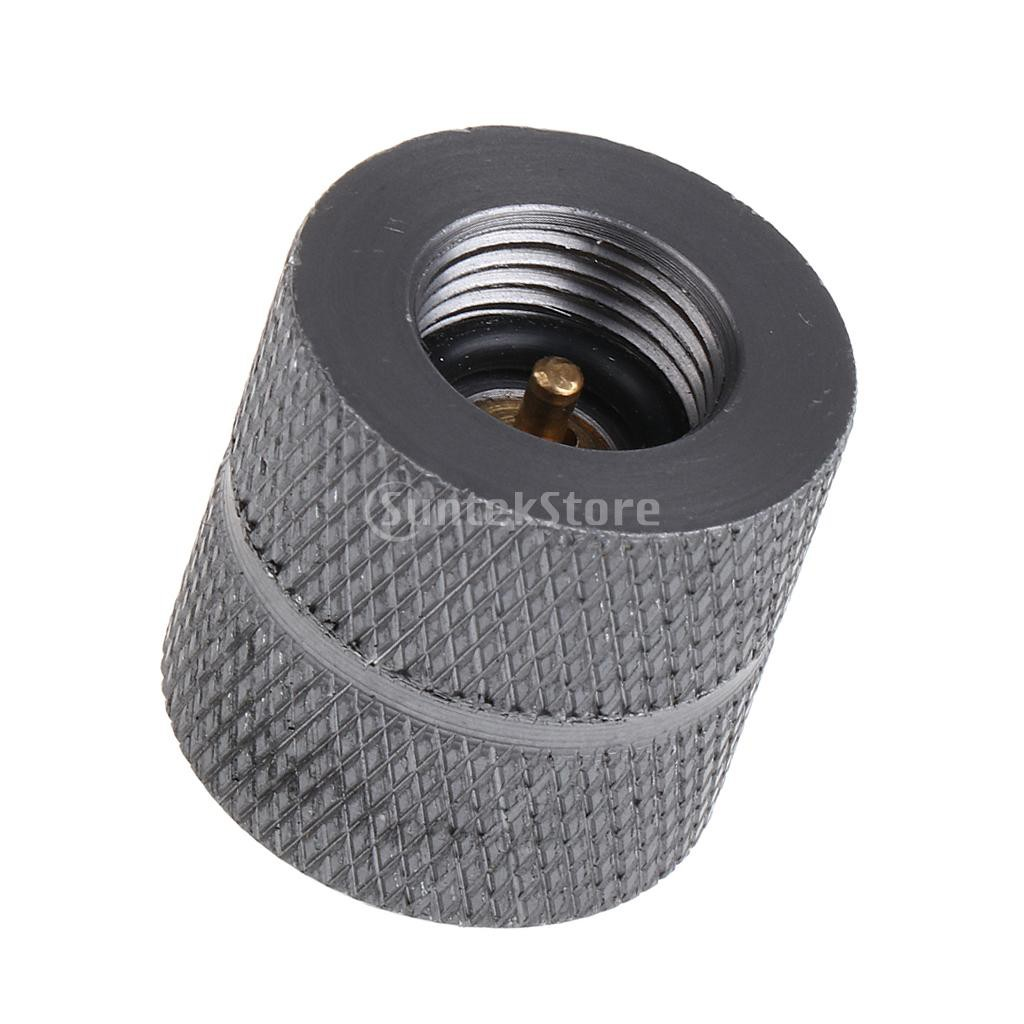 Camping Stove Gas Refill Adapter Picnic BBQ Butane Canister Valve Converter