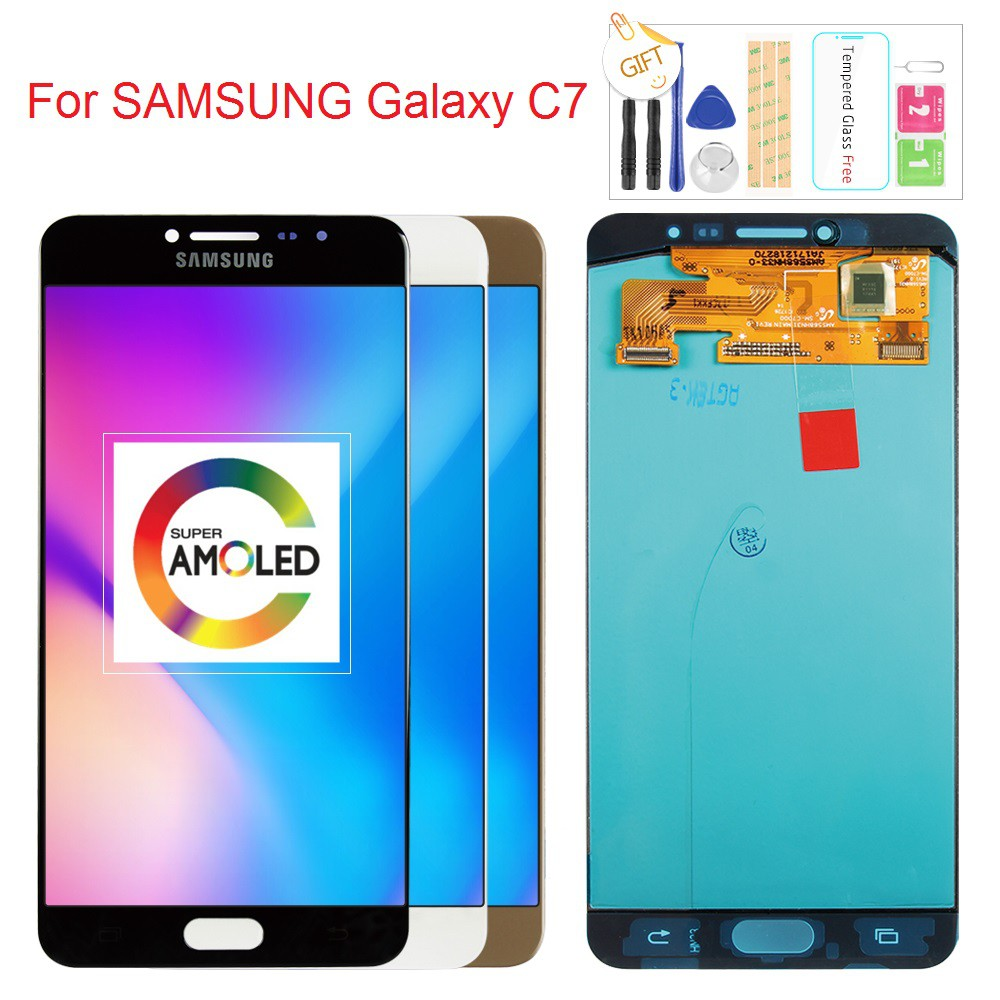 For SAMSUNG Galaxy C7 C7000 LCD Display Touch Screen Digitizer