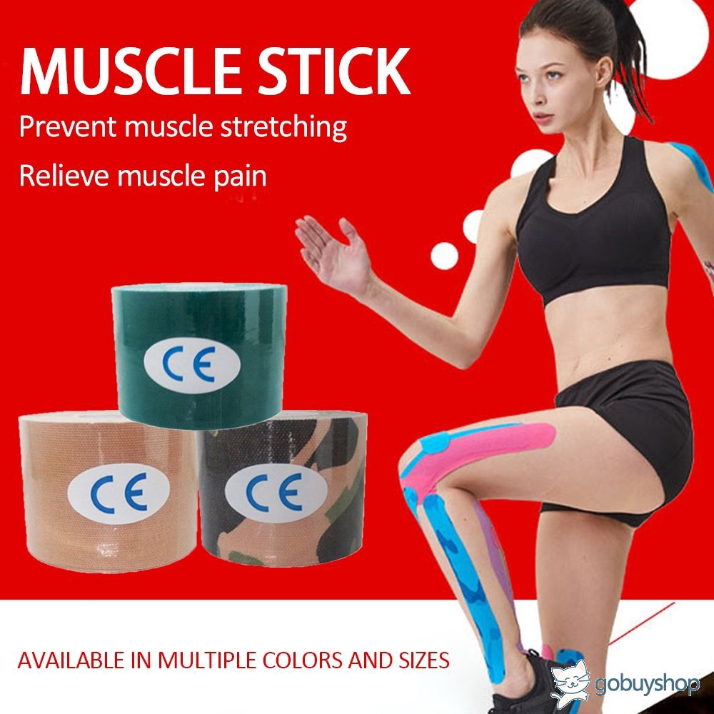 Kinesiology Tape Athletic Sport Recovery Tape Strapping Gym Fitness Knee Muscle Protector Sciss