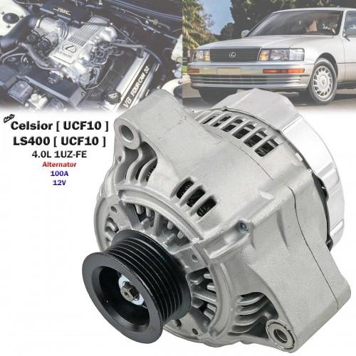 RECONDITION 100A Alternator For Lexus LS400 UCF10 4 0L 1UZ-FE 1989-1994 Oval