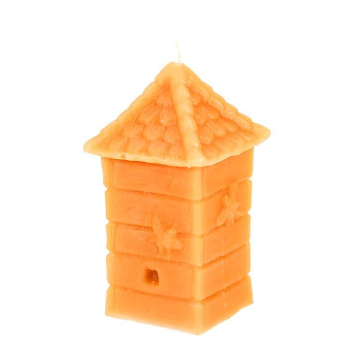 Honey Land™ Beewax Candle – Traditional Bee Hive (95g) /lilin wax lebah Gift Home Decor Lilin Hias [GIFT IDEA]