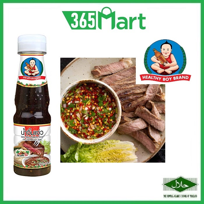 Healthy Boy Thai Spicy Dipping Sauce (Nam Jim Jaew) 165g HALAL by 365mart 365 Mart