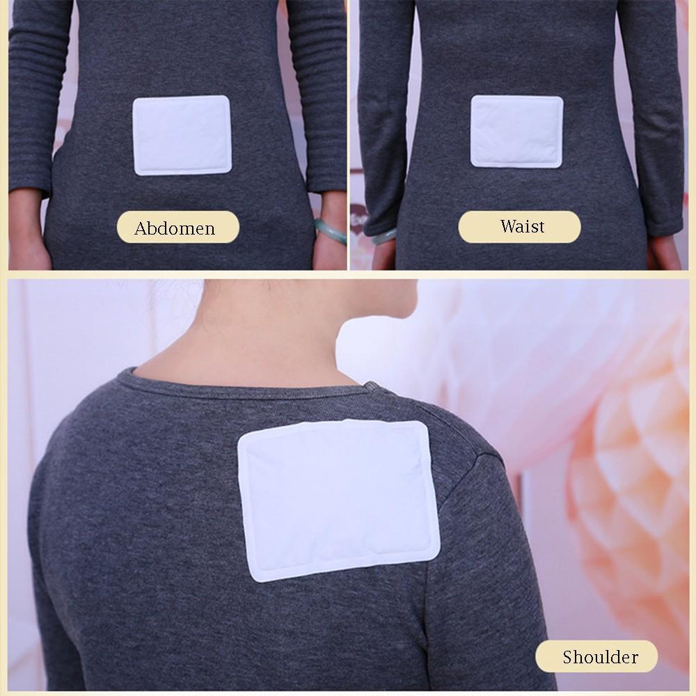 5//10 PCS Adhesive Body Warmer Pad Warm Patch Winter Shoulder Waist Leg Abdomen
