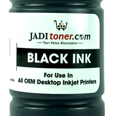 [Quad Pack] Universal Inkjet Deskjet Printer CISS Refill Ink Dye Based Ink Black 100ml - Jadi Life