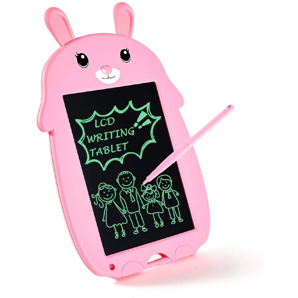 Suitable for Childrens Drawing Graffiti Memo Gift LCD Wordpad//Electronic Tablet Yellow Bear - 8.5 Inch One Touch Erase