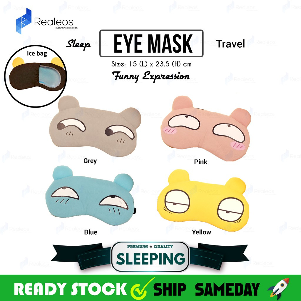 Men's Accessories Sensible Cute Eyes Mask Cover Plush The Sad 3d Frog Eye Mask Cover Sleeping Rest Travel Sleep Anime Funny Gift Elastic Band Men's Earmuffs