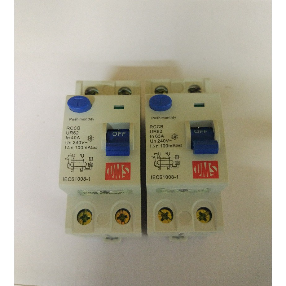 Electrical Double Pole 2p Circuit Breaker Ac 400v 10a Shopee Malaysia 20a Onoff Mcb With Cover Buy