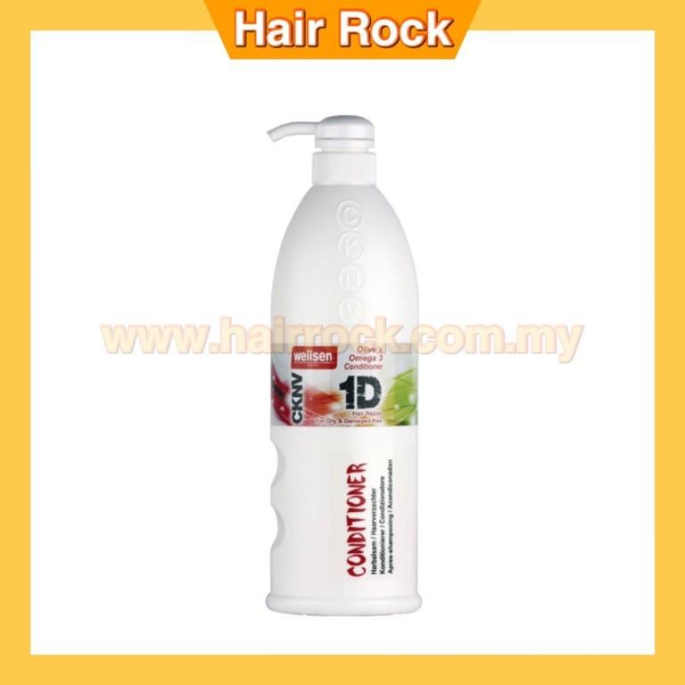 Wellsen CKNV 1D Olive's Omega 3 Hair Repair Conditioner for Dry & Damaged Hair  (1L)