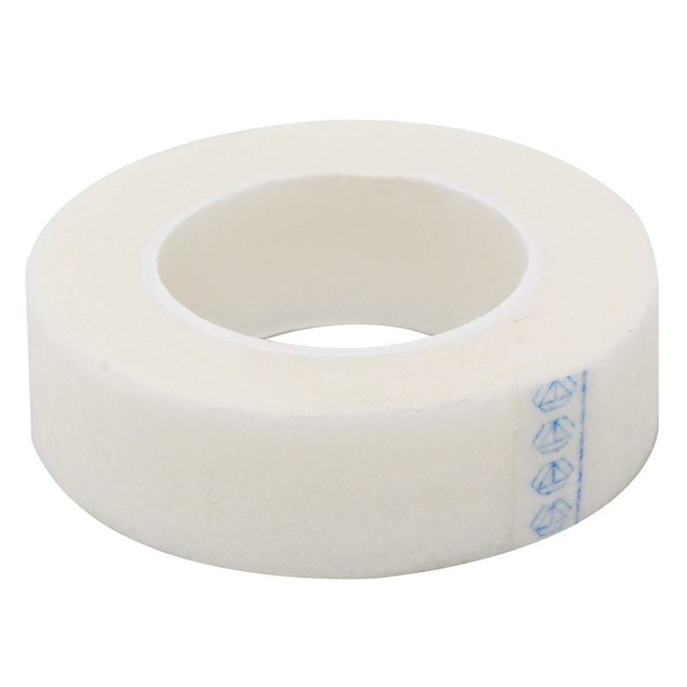 3 Rolls of Eyelash Lash Extension Supply Micropore Paper Medical Tape  (White)
