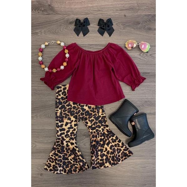 Infant Baby Kid Girl Strap Leopard Ruffle Chiffon Dress Clothes Sunsuit UK Stock